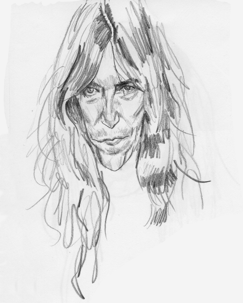 Patti Smith Study 1