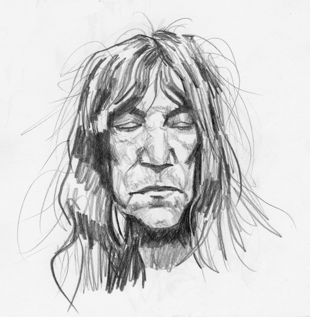 Patti Smith Study 4