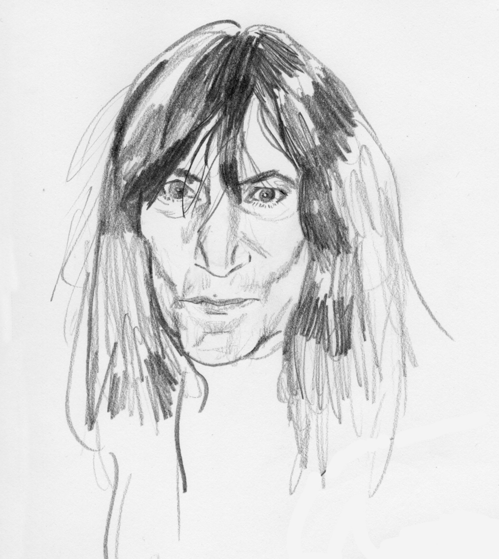 Patti Smith Study 2