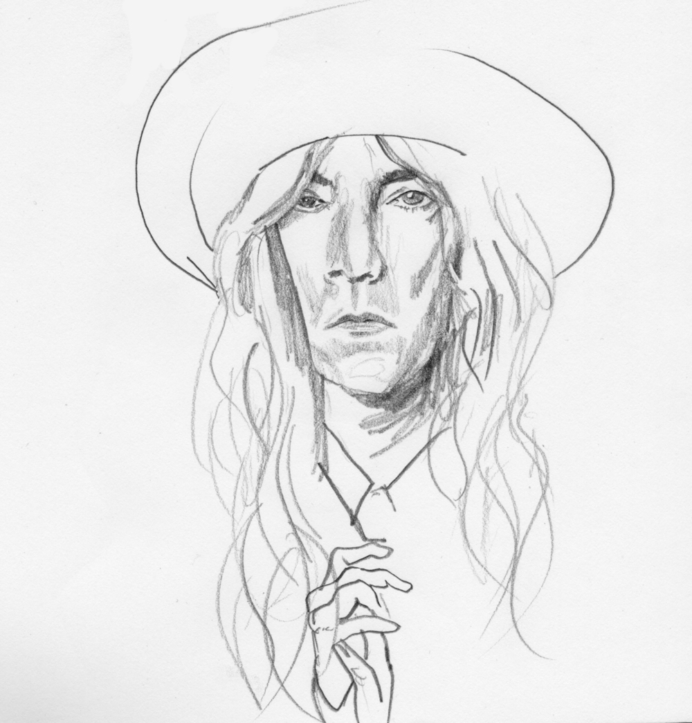Patti Smith Study 3