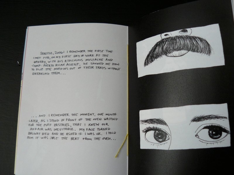 """detail from pages 29-30 of """"Rememory"""""""