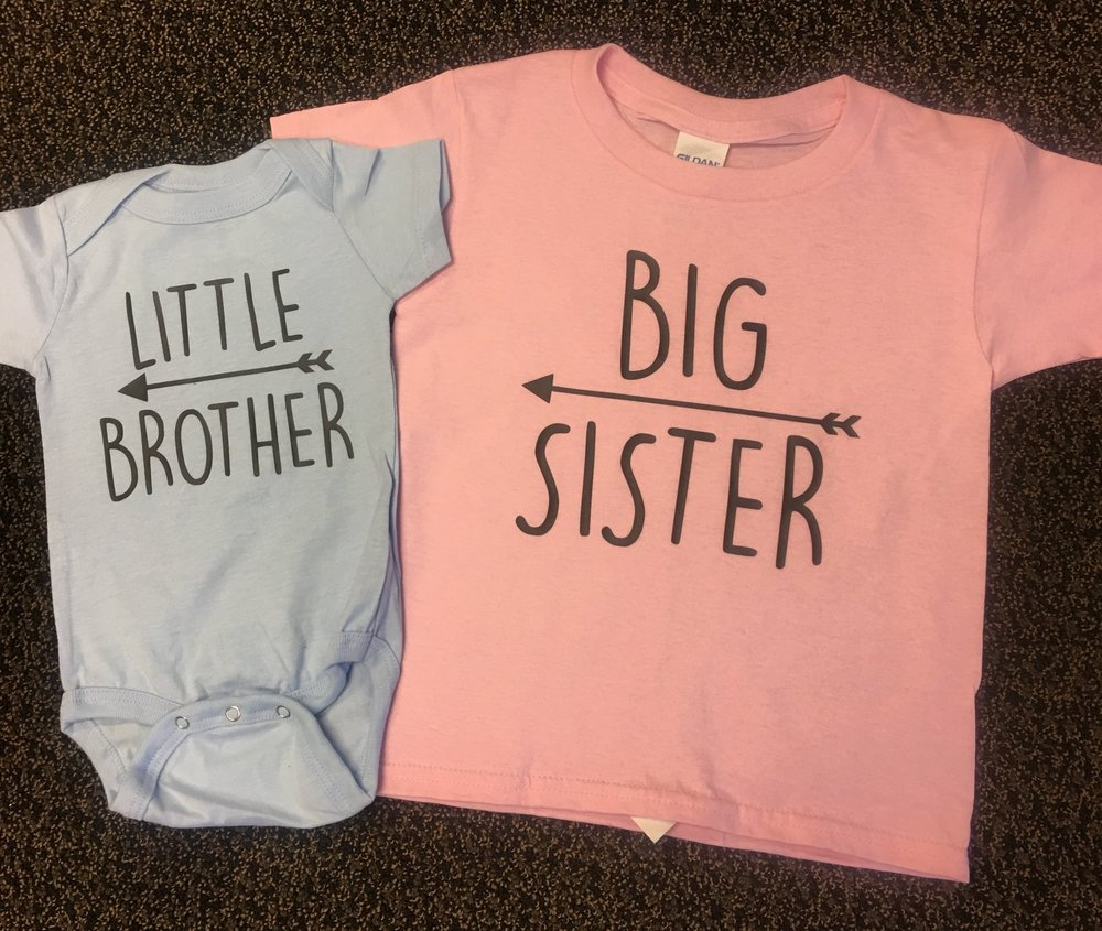 Big Sister Little Brother shirt set