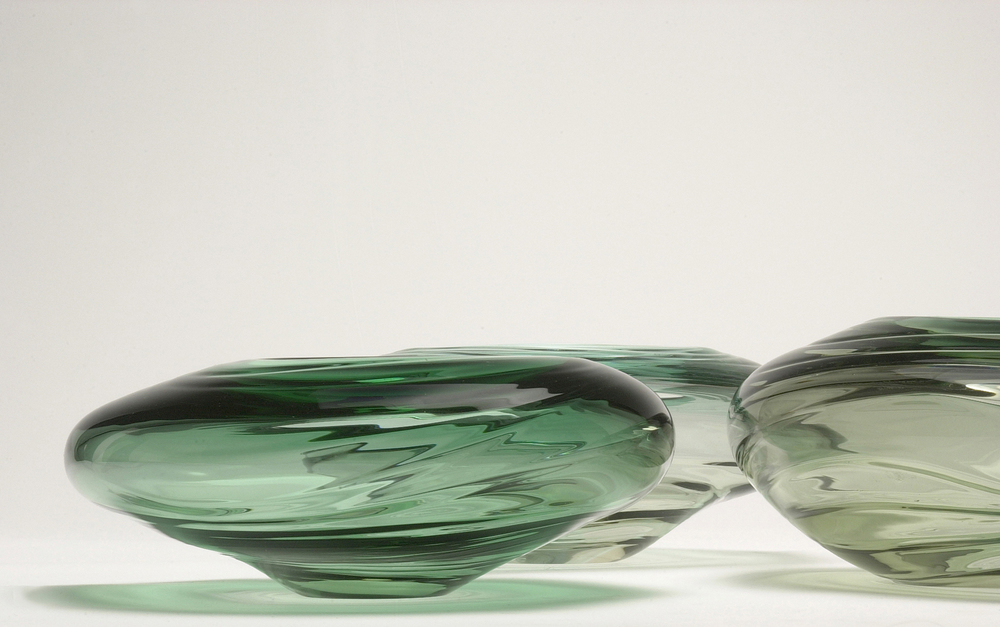"""Water Form - Tourmaline"" 2003 H250mm x W350mm x D350mm"