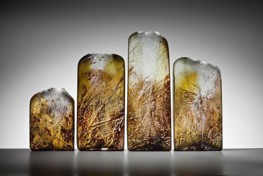 """""""Porcupine Ridge"""" 2012 H480mm x L950mm x W100mm"""