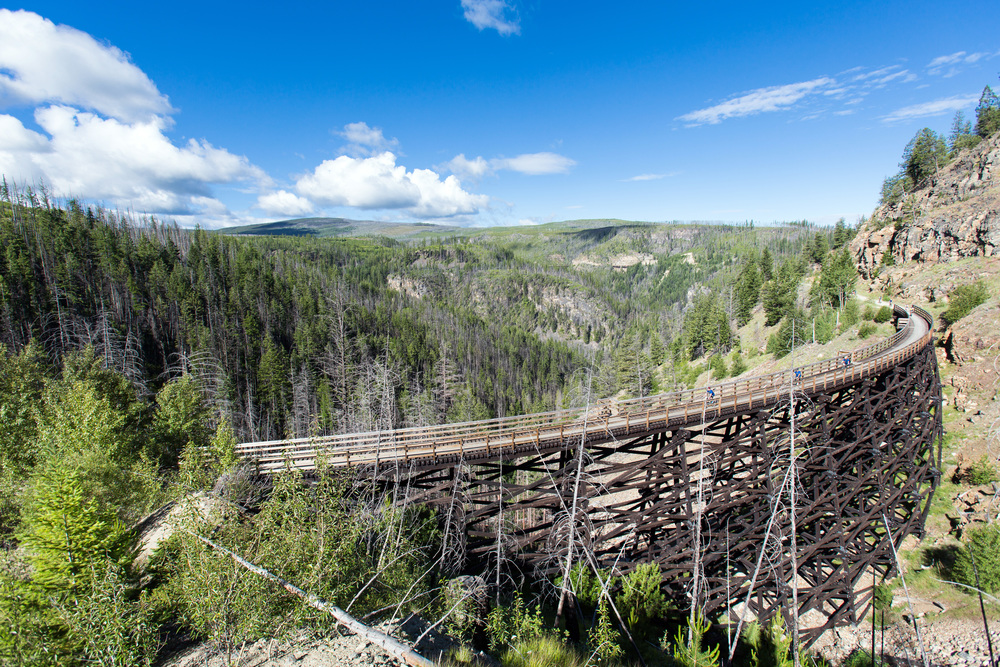 An Okanagan Cycling Event   Ride the amazing trails at Myra Canyon on the Kettle Valley Railway   July 5, 2020      Register