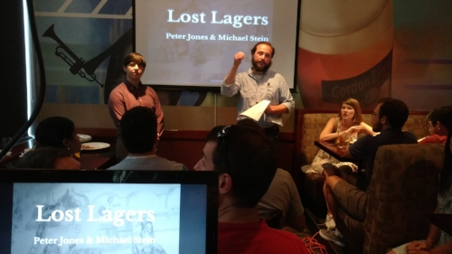 Lost Lagers 'Drink the Extinct!' event presented as part of the DC Beer Week 2017 series of educational programming.