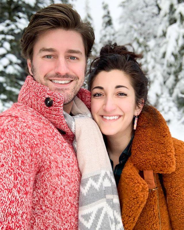 Snowy Besties ❄️ #MtHood #SnowDay #ChristmasBreak