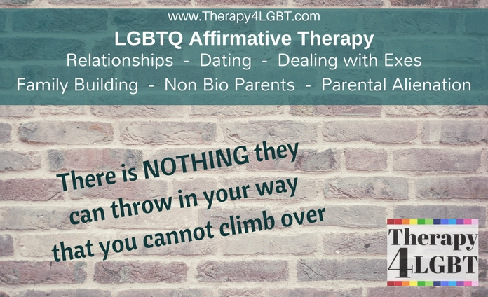 Non biological gay parent gay family lesbian lgbt Marlene Klarborg Larsen California parental alienation