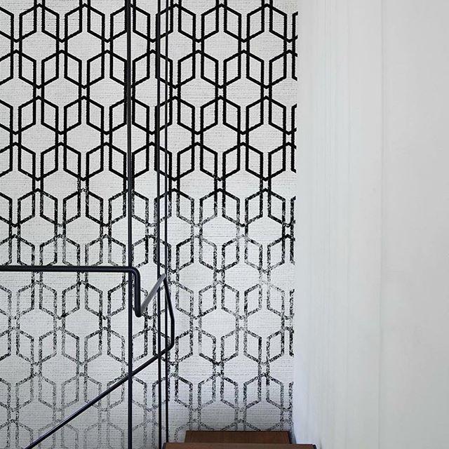 We'd like to introduce LondonArt Wallpaper, now available at @fusempls  #wallpaper #graphicwalls #interiordesign #minneapolisdesign #internationalmarketsquare #design #art #fusempls