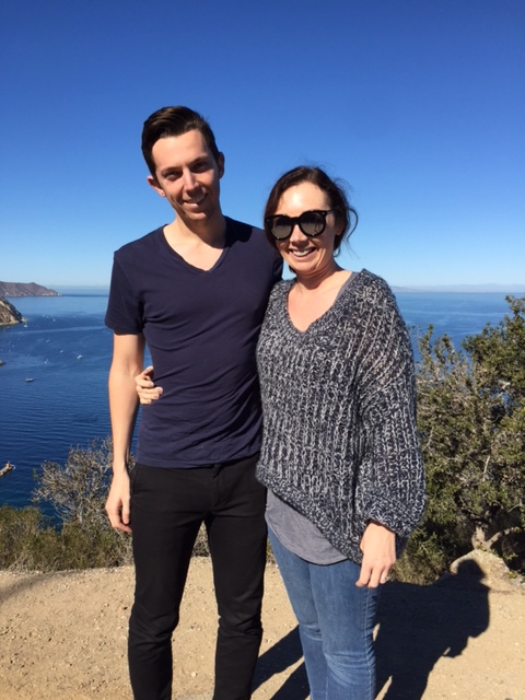 Alex and Glory_Catalina Island_November 2015