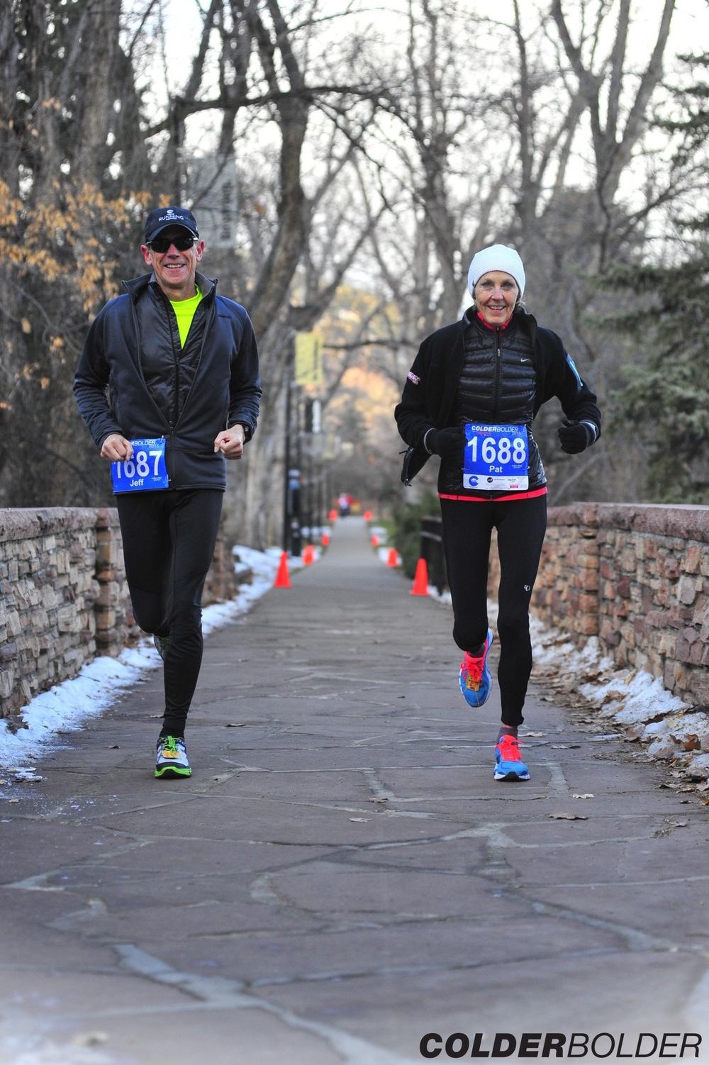 Doug and Pat_ColderBoulder Run