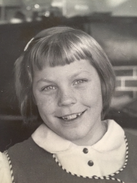 Christmas photo, second grade, age 7 1/2