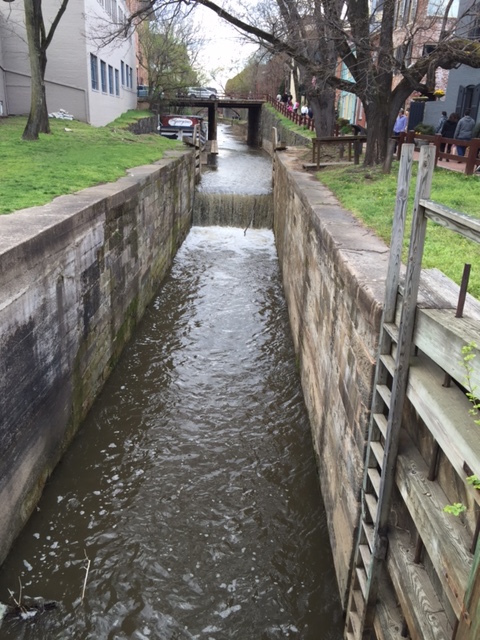 C&O Canal and locks (Georgetown)