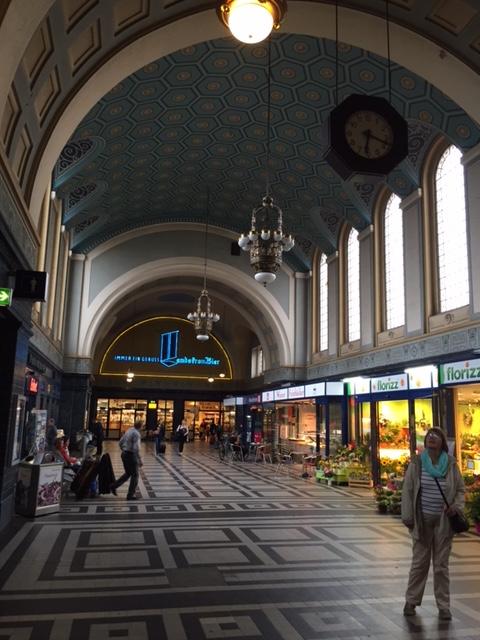 Görlitz train station.