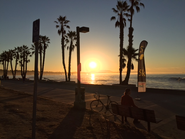 Sunrise at Ventura Beach