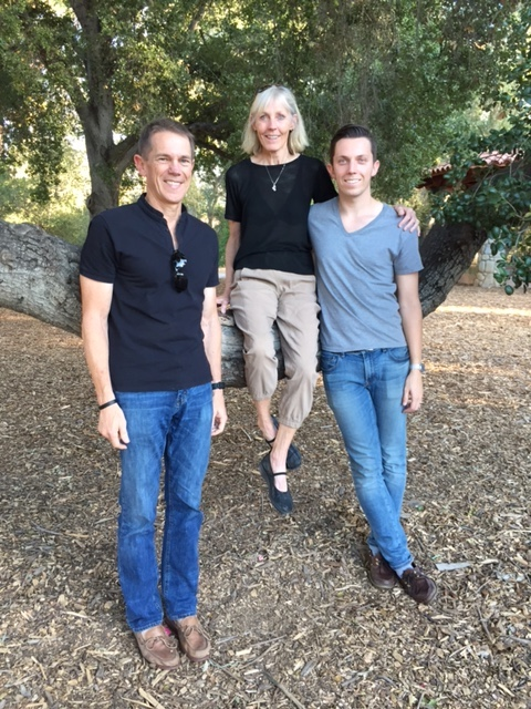 Doug, Pat and Alex: Ojai, California