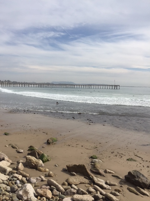 Ventura Beach and Pier
