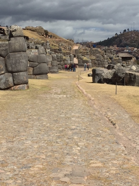 Ruins of Saqsayhuaman, above Cusco.