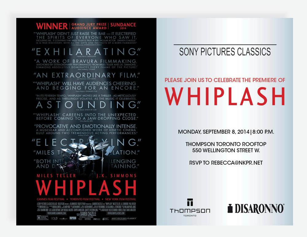 Whiplash Thompson Hotel Event