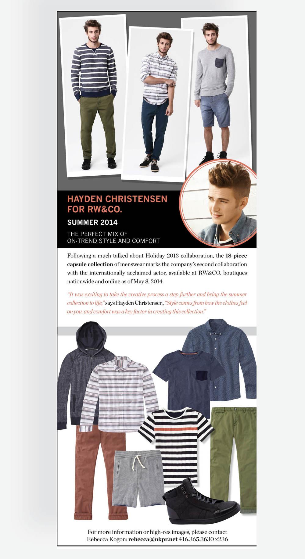 Hayden Christensen Trend Report