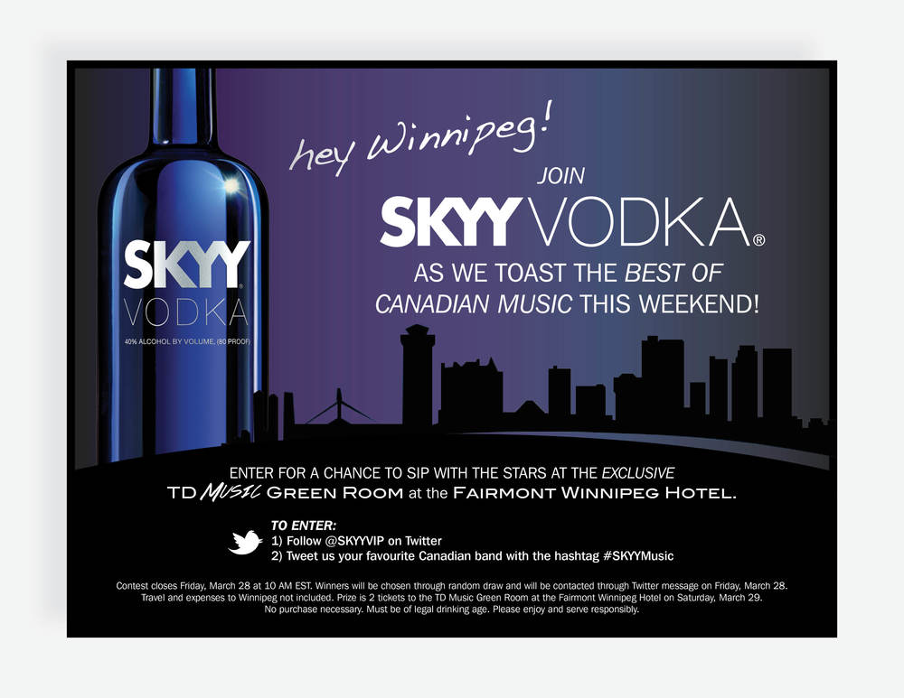 SKYY Vodka Contest