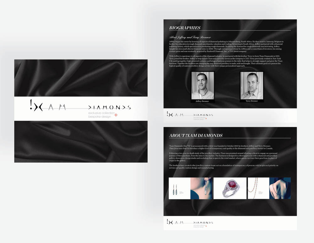 !XAM Diamonds Press Kit