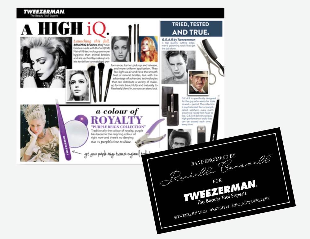 Tweezerman Signage