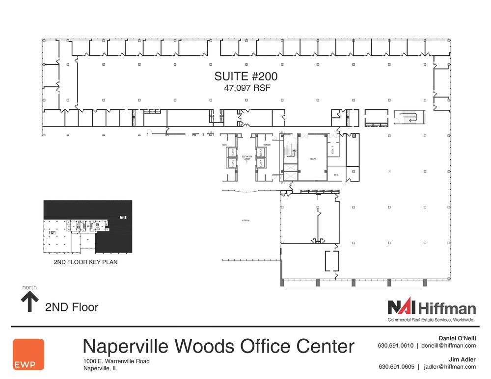 1000 Warrenville Rd  Suites 200  47,097 RSF