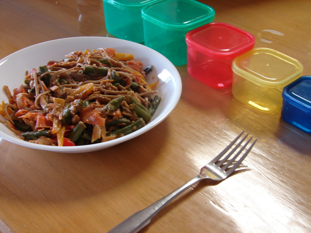 21 Day Fix Thai Peanut Pasta One Fit Happy Family