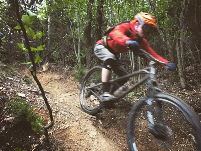 Epic few days on the bikes in #finaleligure! The #Ranger is such a weapon  when is gets fast and bumpy!! #BTRBadgers #Hardtail #BTR #Mtb #Italy