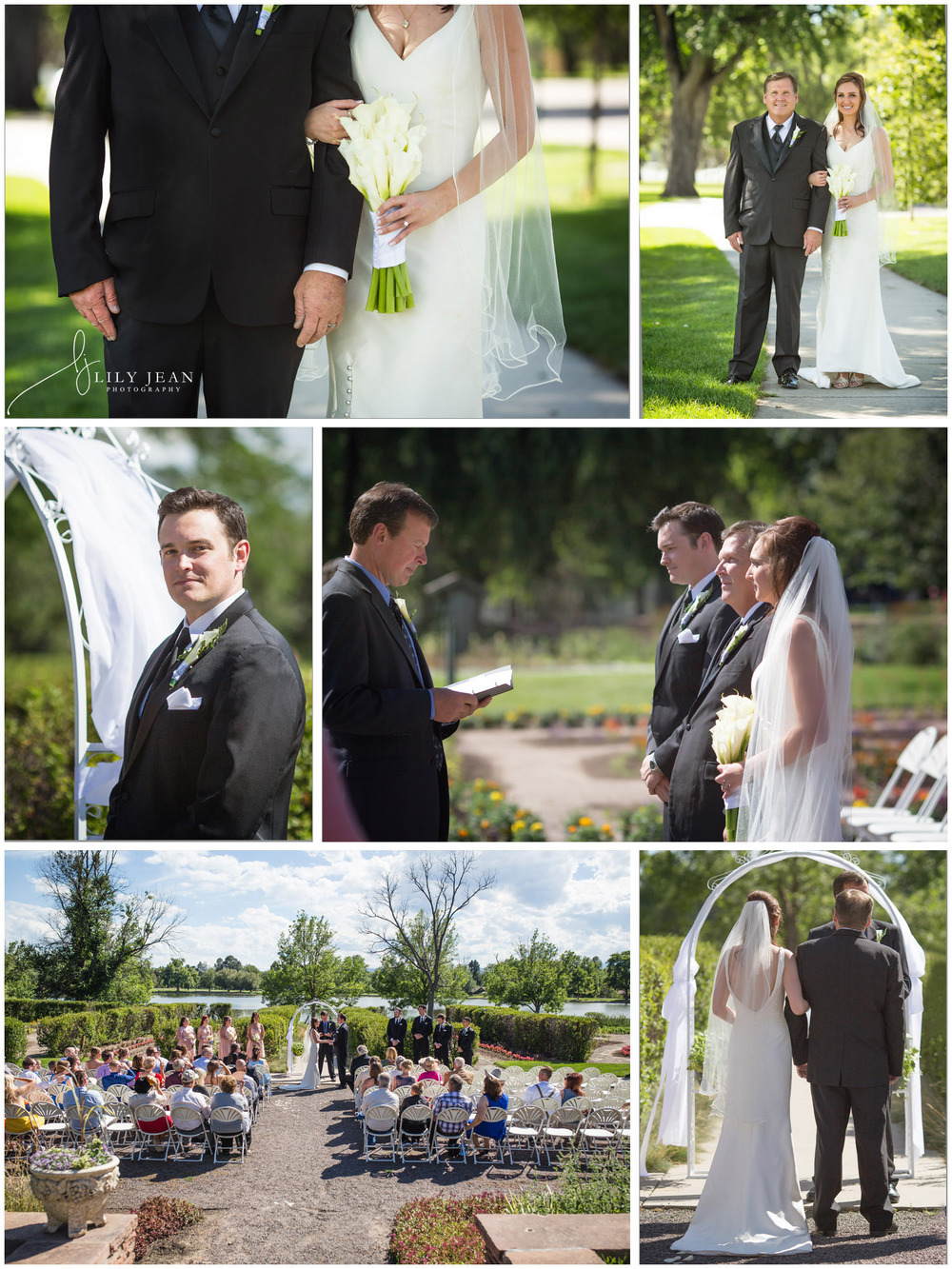 Washington Park Denver Rose Garden Wedding