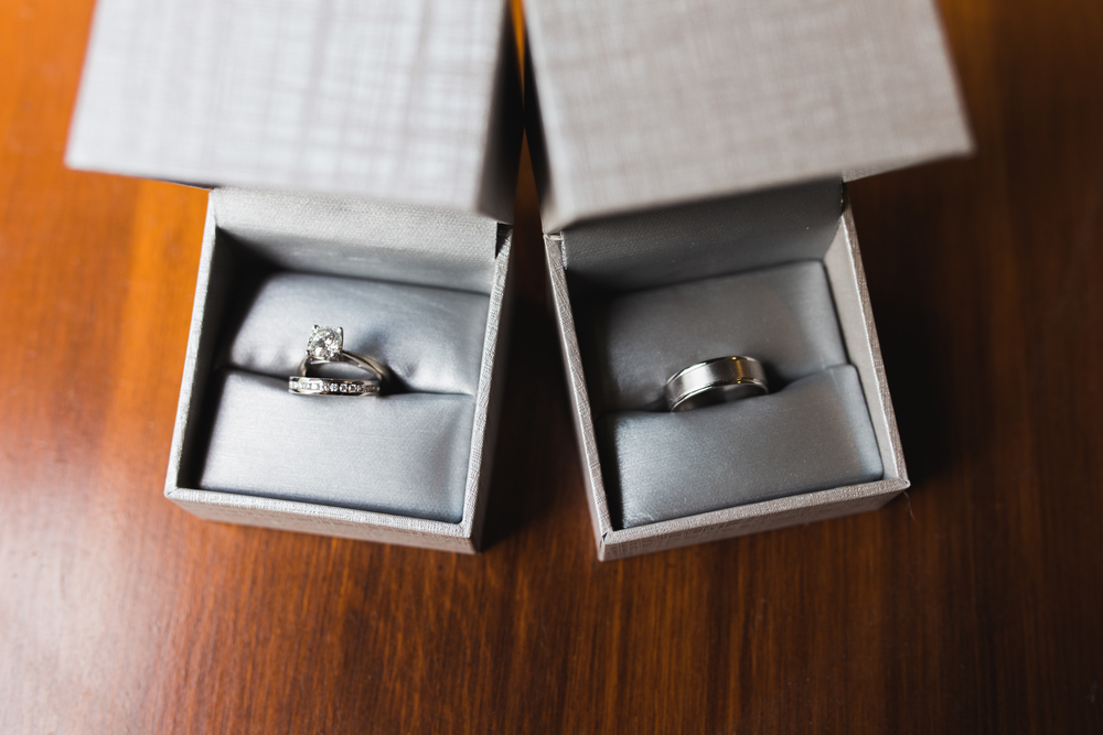 Denver Rose Garden Wedding Rings