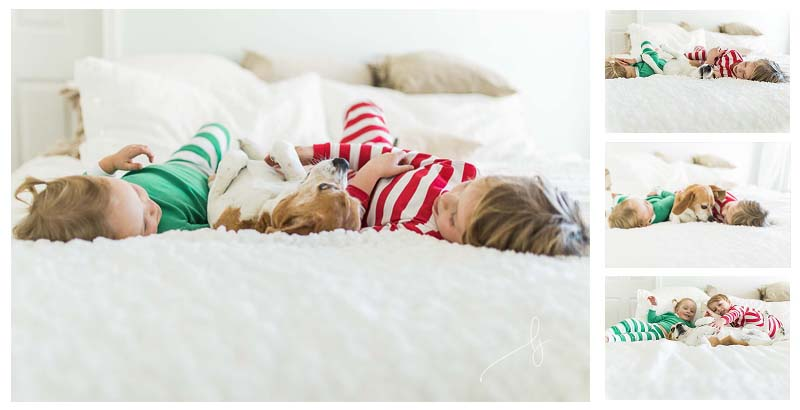 Colorado Springs Lifestyle Photographer kids holiday photo