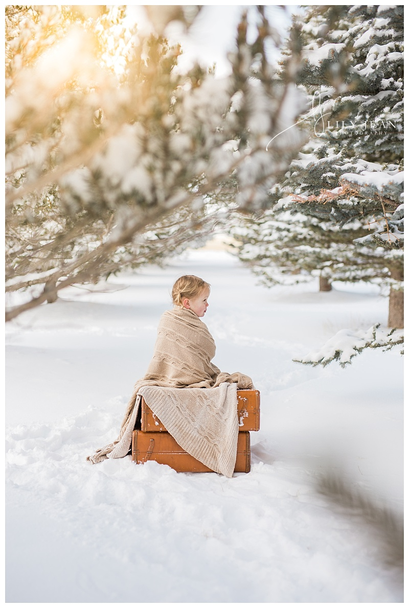 Lily Jean Photography Snow Portraits