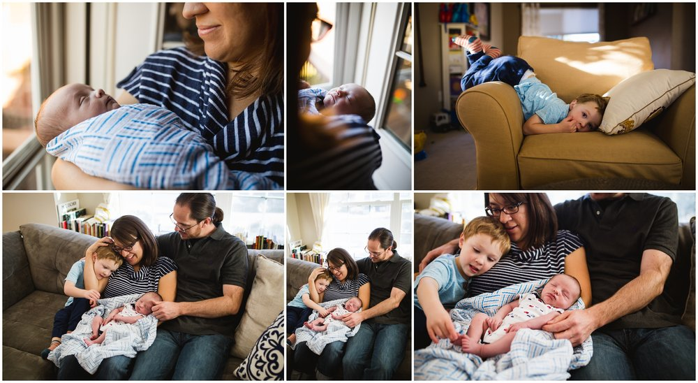 Lifestyle Family session newborn by lily jean photography