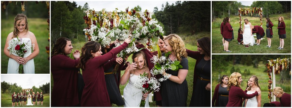 Newton Stromberg Park Wedding Evergreen Colorado by Lily Jean Photography