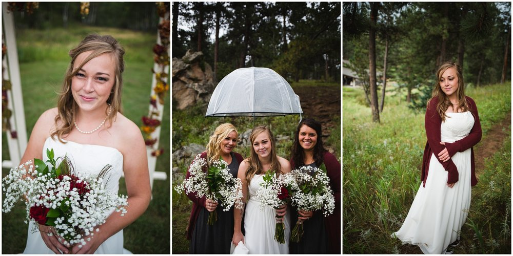 Casual Mountain Bridal photos by Lily Jean Photography
