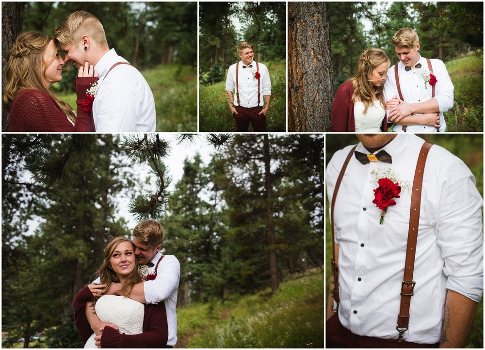 Evergreen Colorado Mountain Wedding by Lily Jean Photography