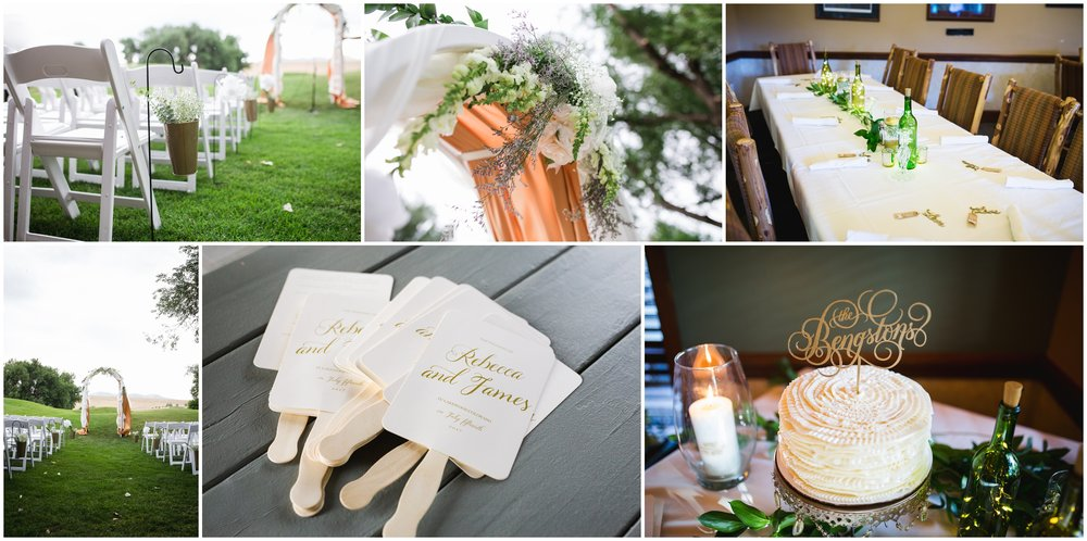fox hollow golf course wedding details by lily jean photography
