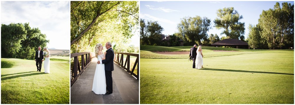 Outdoor wedding photos by Lily Jean Photography