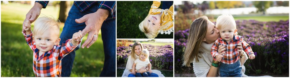 Toddler siblings family photo session by Lily Jean Photography