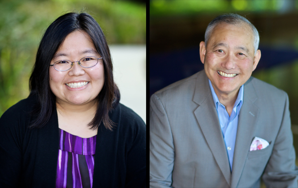 Left to Right : Marci Nakano will be EDI's new Executive Director after Alan Sugiyama's departure late February.