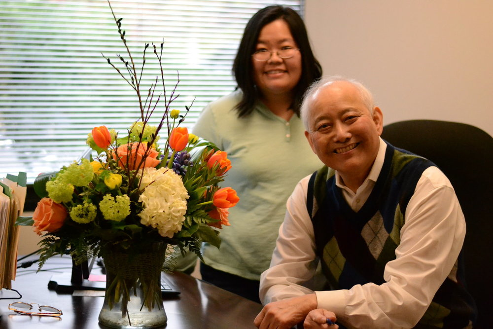 Above:  Marci and Al pose for a photo on his last day as EDI Executive Director.