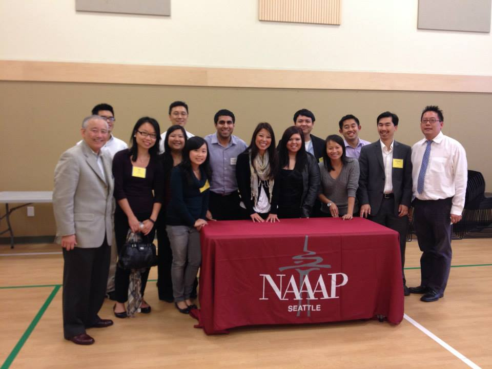 Above:   NAAAP-Seattle had a booth at EDI's Leadership Together Conference held at ACRS in 2013.