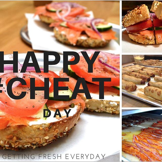 Happy national #cheatday It's ok. Be proud. Get anything on the New menu. #exerciselater  #foodies #carblover #bagelfan #eatersgonnaeat #healthychoices #brunch #breakfast #Oakland #cafe