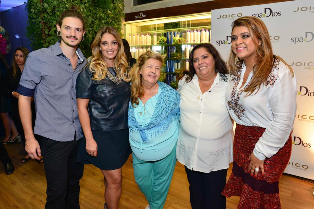 Rafa Dios, Renata Souza, Mercedes Dios, Deia Dios e Preta Gil