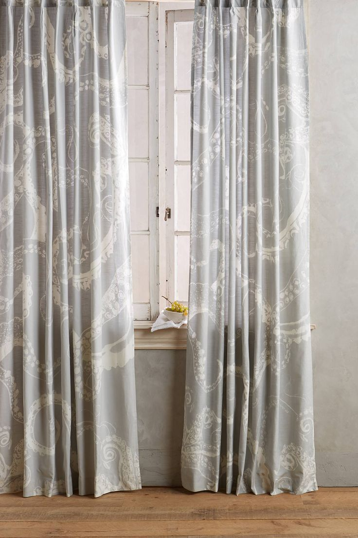 Anthropologie Seashell Curtains