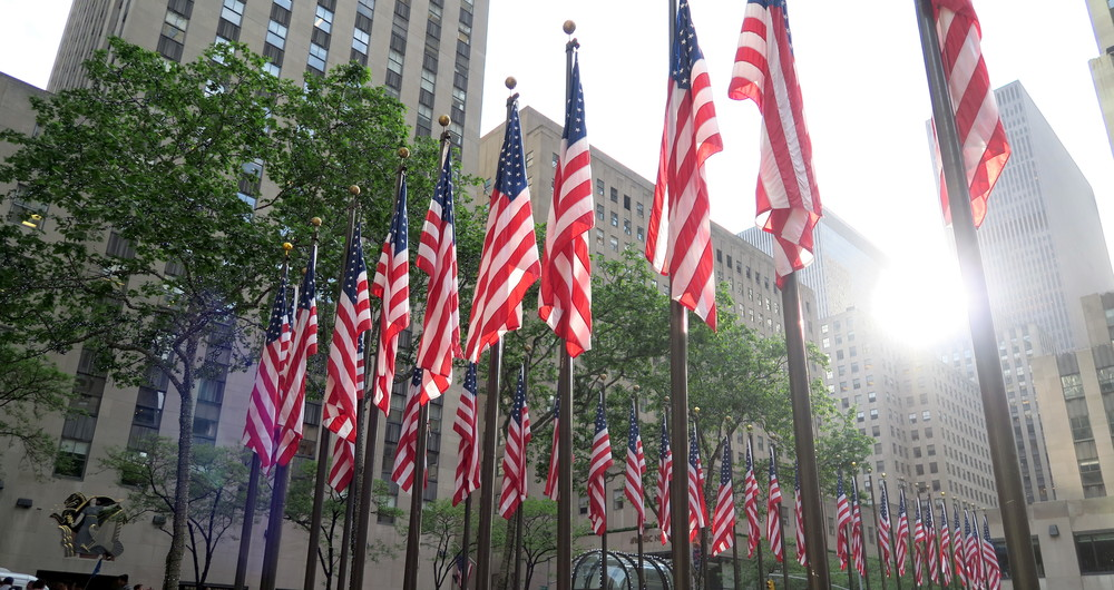 Flags of Rockefeller Center