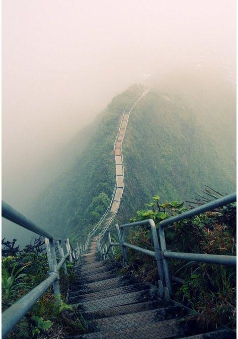 Haiku Stairs Oahu