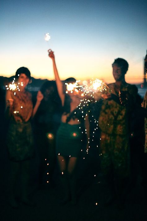 sparkler party